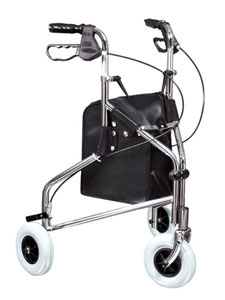 Picture of a 3 Wheel Rollator
