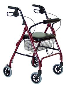 Picture of a 4 Wheel Rollator