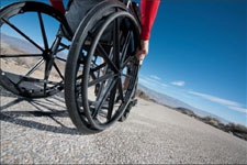 Picture of a Manual Wheelchair